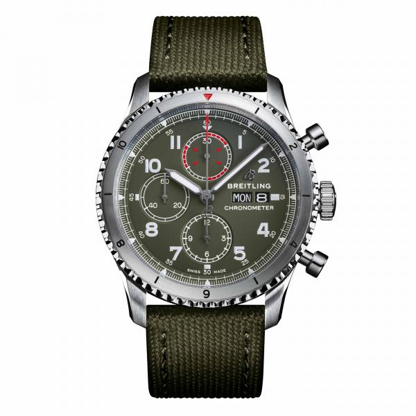 Breitling - Aviator 8 Chronograph 43 Curtiss Warhawk