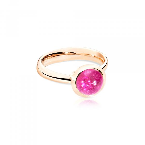BOUTON Ring small rosa Turmalin