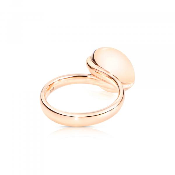 BOUTON Ring large grauer Mondstein (4)