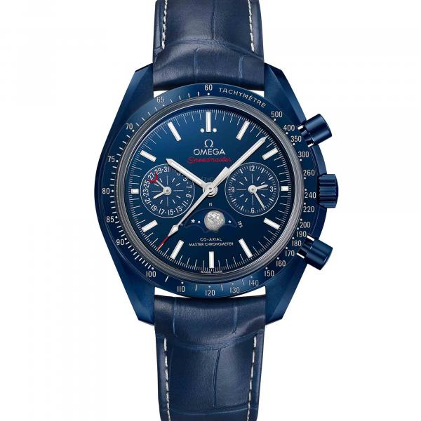 Speedmaster Blue Side Of The Moon Co-Axial Master Chronometer Moonphase Chronograph