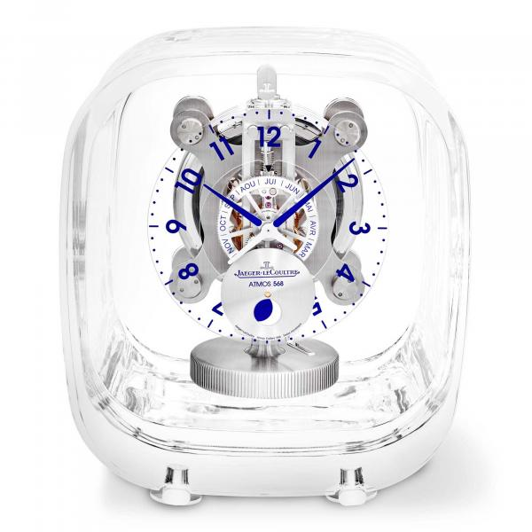 Jaeger-LeCoultre - Atmos 568 by Marc Newson Baccarat-Kristallglas