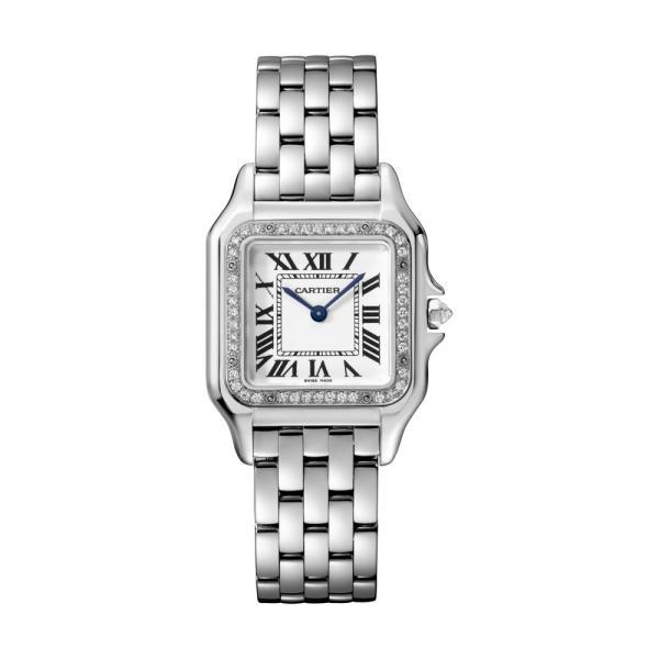 Cartier - Panthère de Weißgold MM mit Diamantlünette