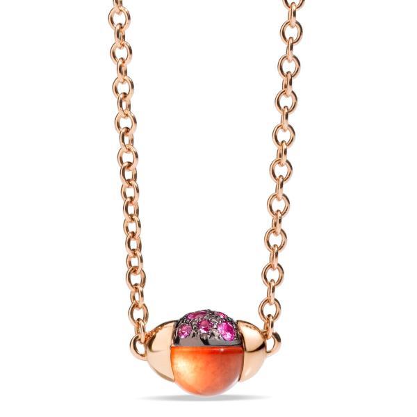 Pomellato - Anhänger mit Halskette M´ama non M´ama