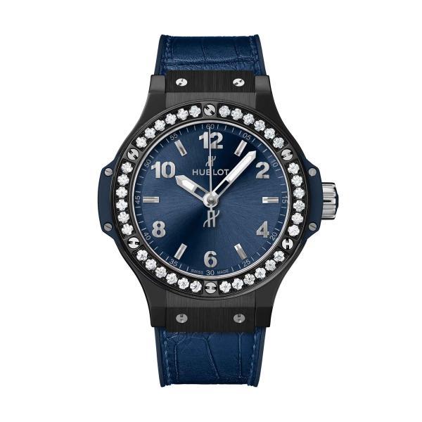 Hublot - Big Bang Ceramic Blue Diamonds