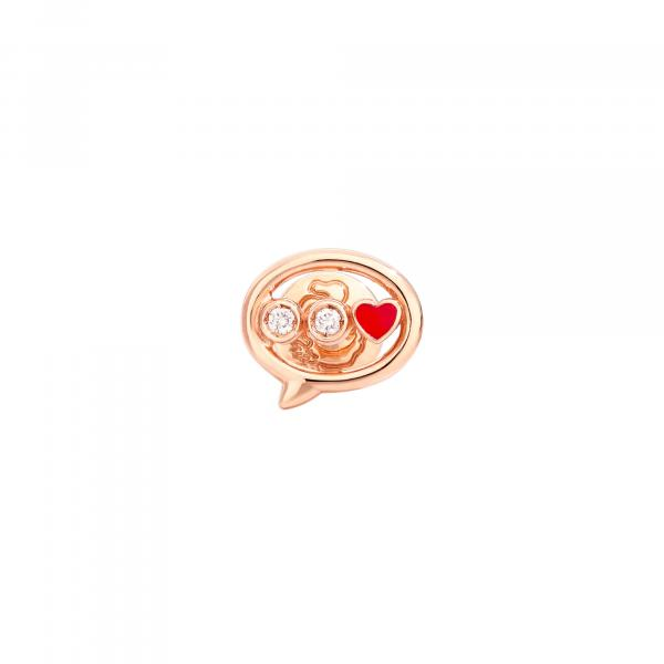 Ohrring Botschaft (1)