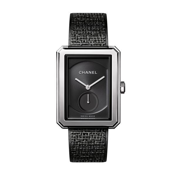 Chanel - BOY∙FRIEND TWEED BLACK
