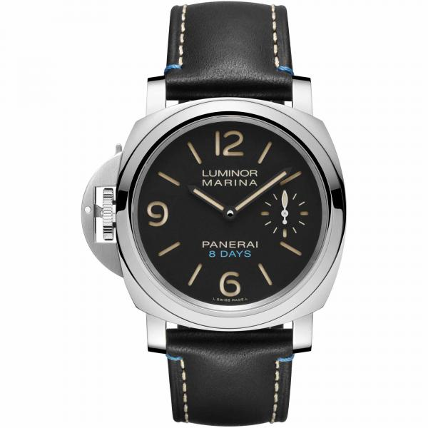 Panerai - Luminor Left-Handed 8 Days Acciaio