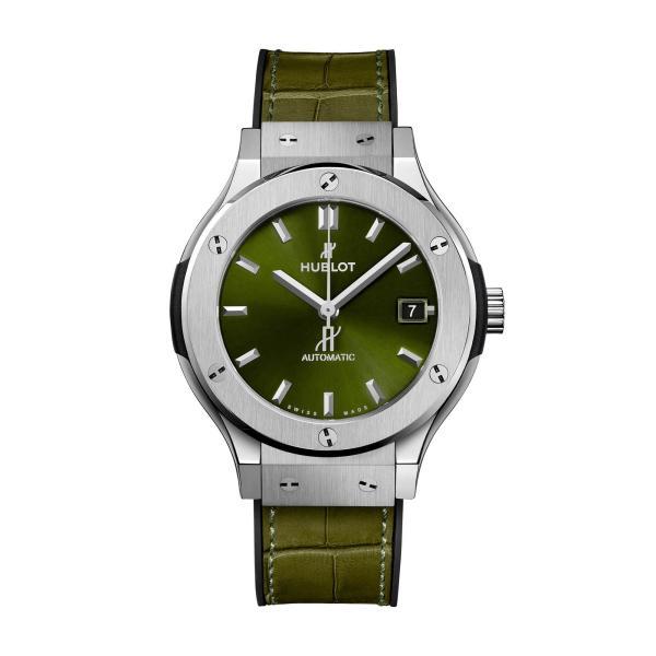 Hublot - Classic Fusion Titanium Green