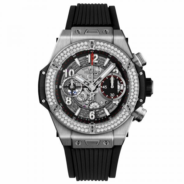 Hublot - Big Bang Unico Titanium Diamonds