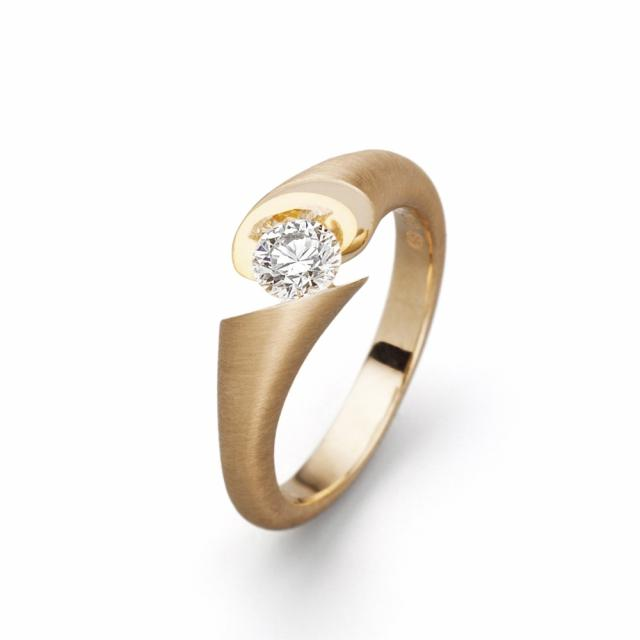 Ring Calla Gelbgold-default