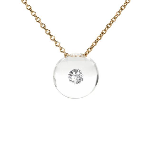 Schmuckwerk - Glasklar Halskette