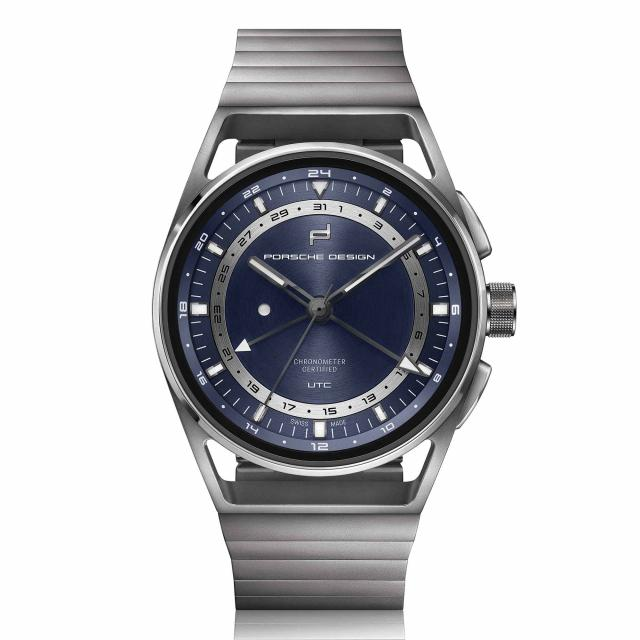 Porsche Design - 1919 GLOBETIMER UTC All Titanium & Blue