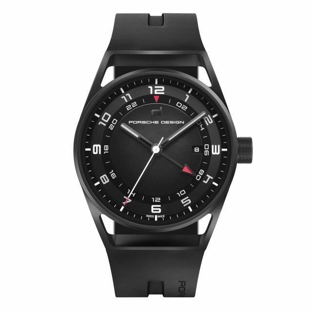 Porsche Design - 1919 GLOBETIMER Black & Rubber